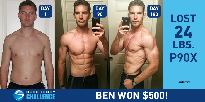 p90x results ben got ripped in two rounds the beachbody blog rh beachbodyondemand com P90 Before and After PX90 Magikarp