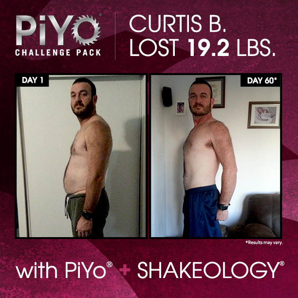 PiYo and Shakeology: Fluid movement, dense nutrition, and