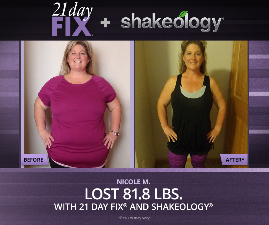 21 Day Fix And Shakeology Nutrition Fitness Transformations