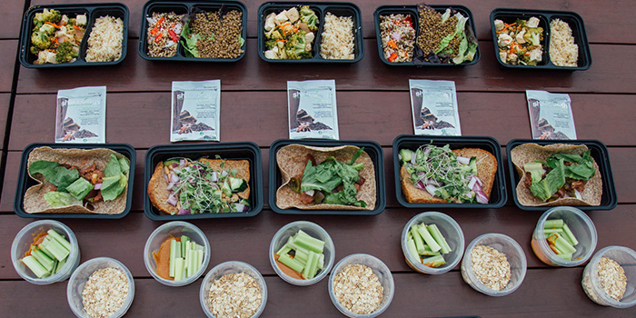 Vegan Meal Prep for 21 Day Fix