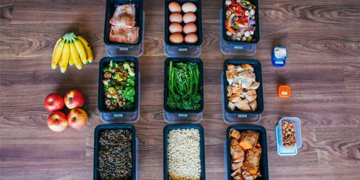 Buffet-Style Meal Prep