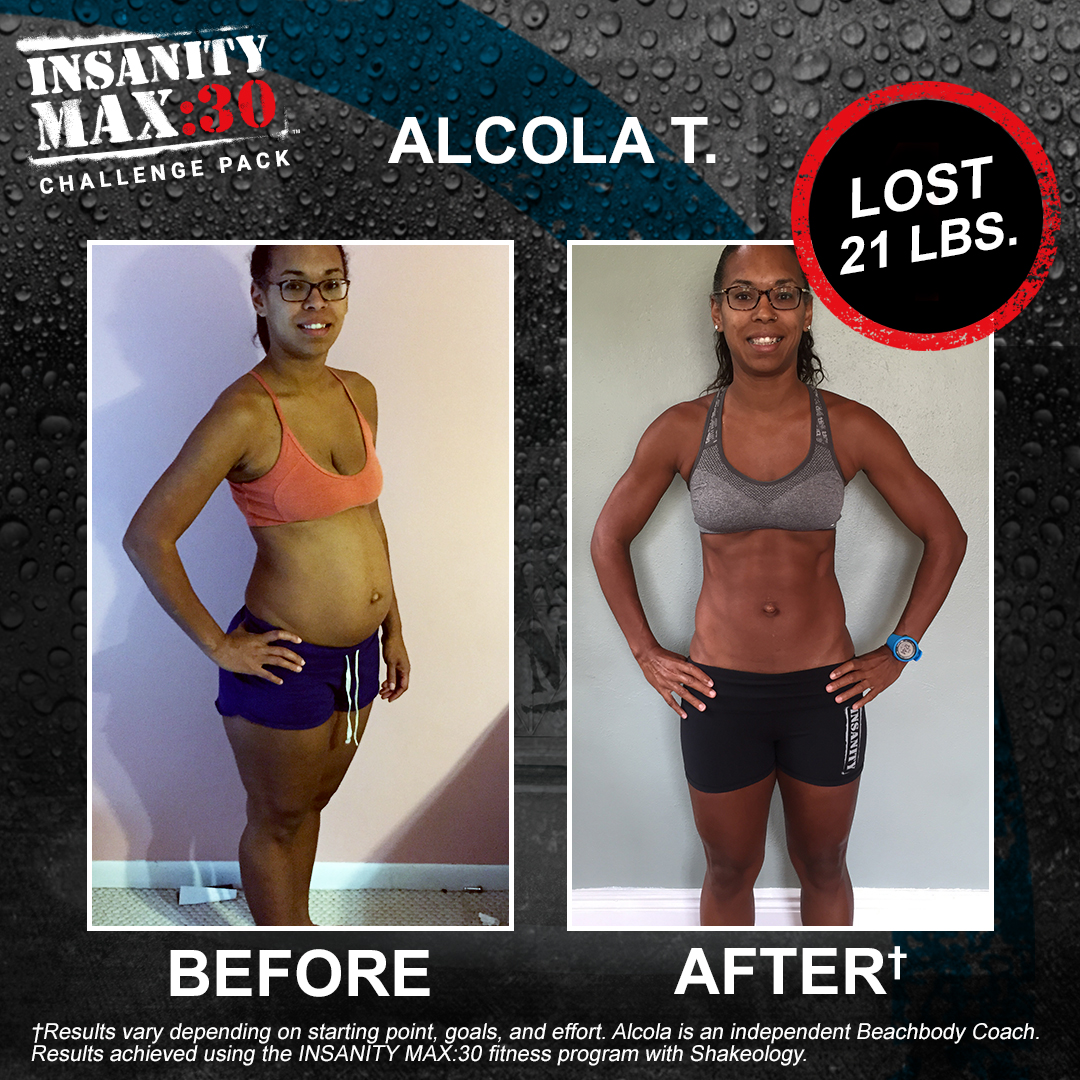 INSANITY MAX:30 and Shakeology: When You Only Have Time for