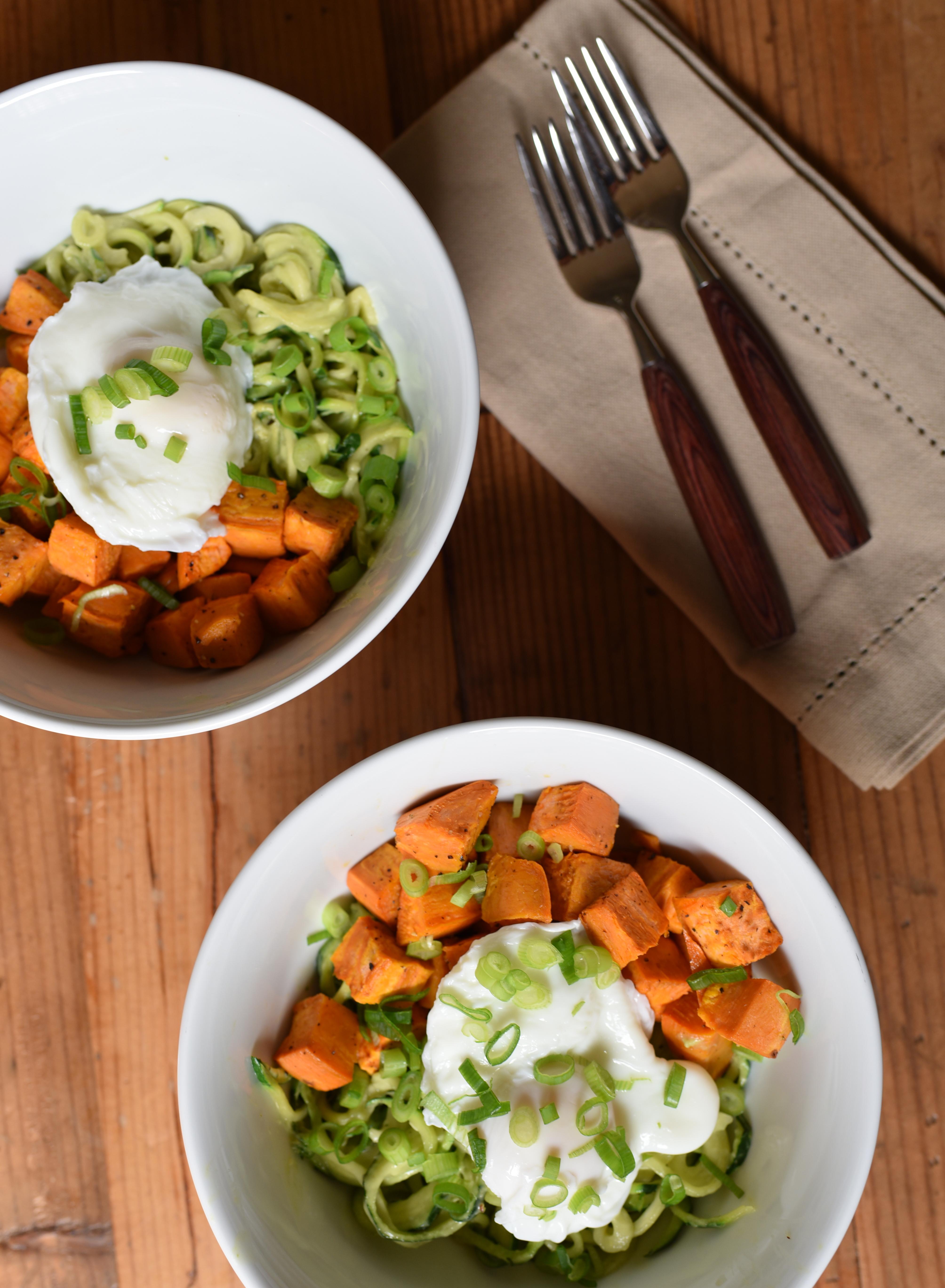 Zucchini Noodle Breakfast Bowl Recipe | BeachbodyBlog.com