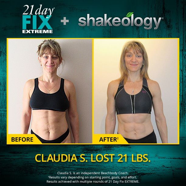 Get summer sexy with 21 Day Fix EXTREME and Shakeology!