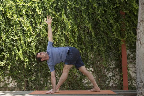 3 Week Yoga Retreat Twisted Triangle