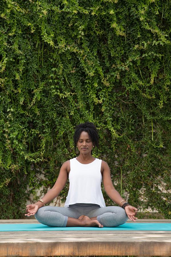 3 Week Yoga Retreat Lotus Pose