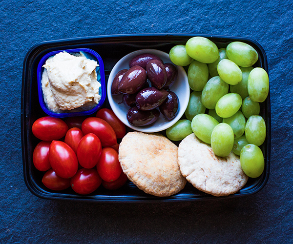 5 Simple Snack Boxes for Busy People - Mediterranean
