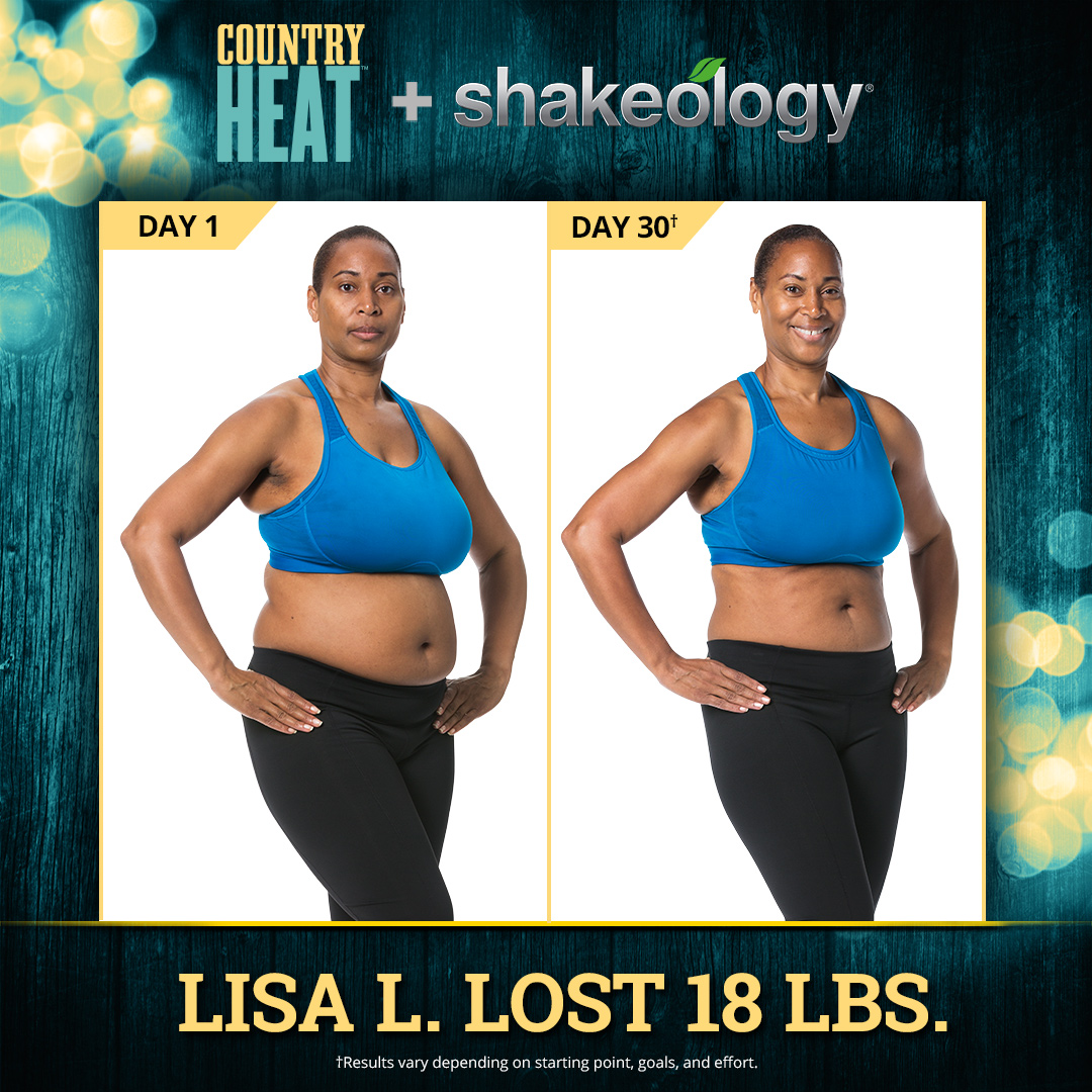 Country Heat and Shakeology: Sizzling Combo Melts off the Pounds