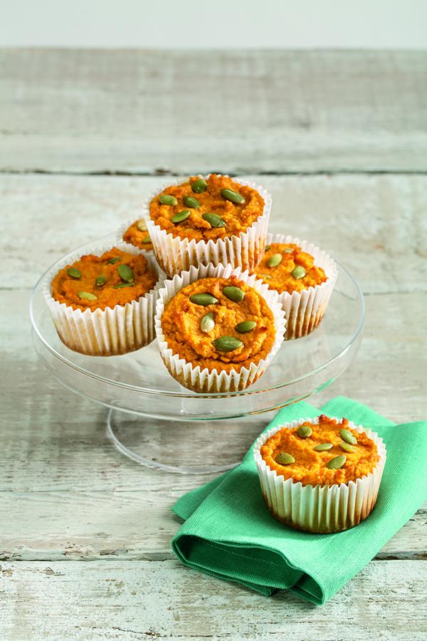 Pumpkin Muffins with Maple Cream Cheese Recipe