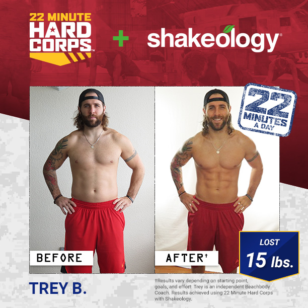 22 Minute Hard Corps and Shakeology: Get Boot Camp Fit Quick!