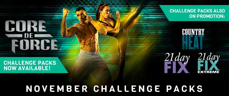 November Challenge Packs