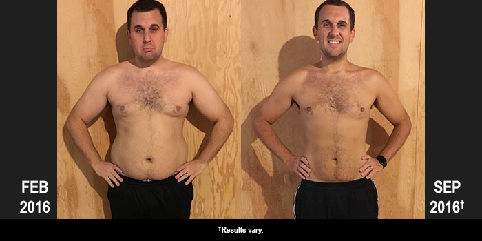 FOCUS T25 Results: Michael Lost 54 Pounds!