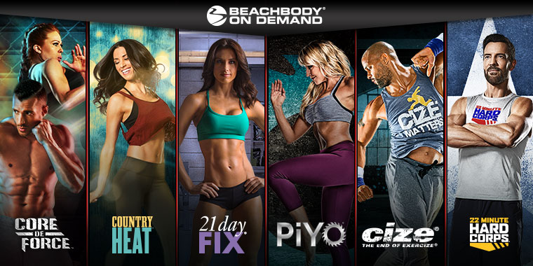 Instantly Access Your Favorite Beachbody Programs Online!