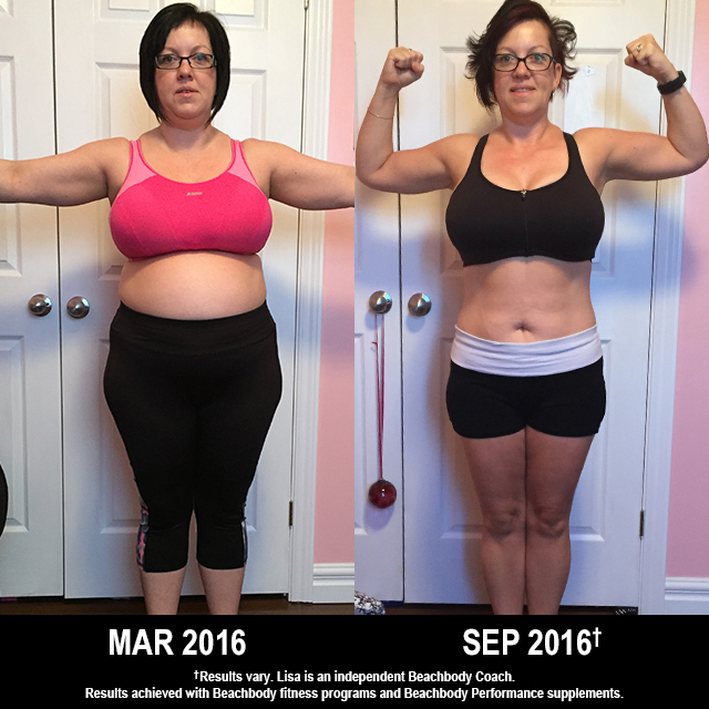 Beachbody Results: Lisa Lost 33 Pounds with T25 and PiYo!