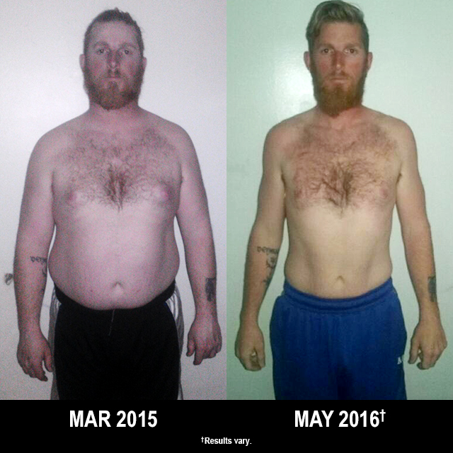 Beachbody Results: Justin Lost 57 Pounds with T25 and MAX:30!
