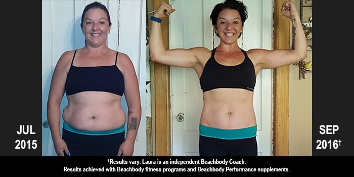 PiYo Results: Laura Lost 50 Pounds!
