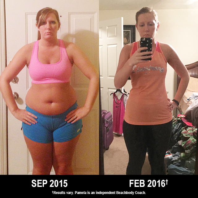 21 Day Fix Results: Pamela Lost 40 Pounds and Feels Great