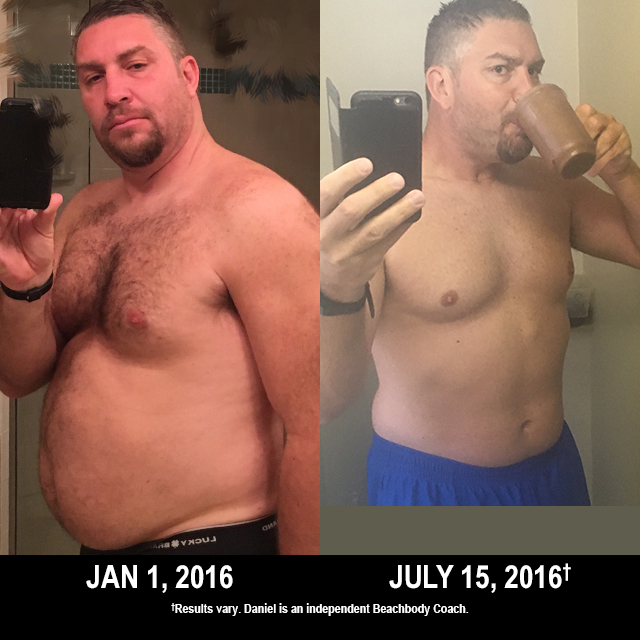 Beachbody Results: Daniel Lost 38 Lbs. with P90X3 and 22 Minute Hard Corps