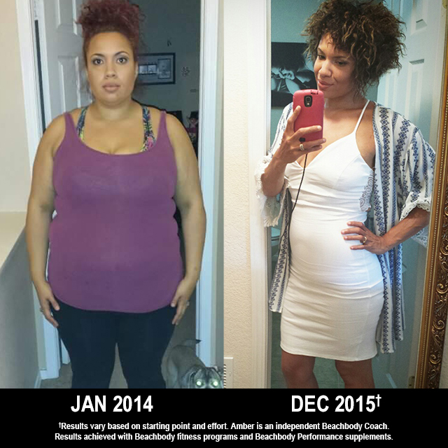 Beachbody Results: Wow! Amber Lost 130 Pounds!