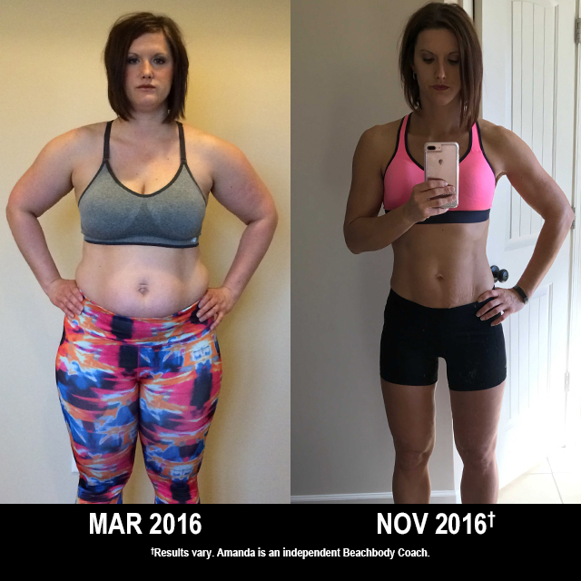 Beachbody Results: Amanda Lost 71.6 Pounds. See Her Results!