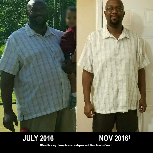 CIZE Results: Joseph Lost 65 Pounds