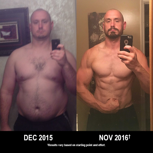 INSANITY Results: Andrew Lost 130 Pounds!
