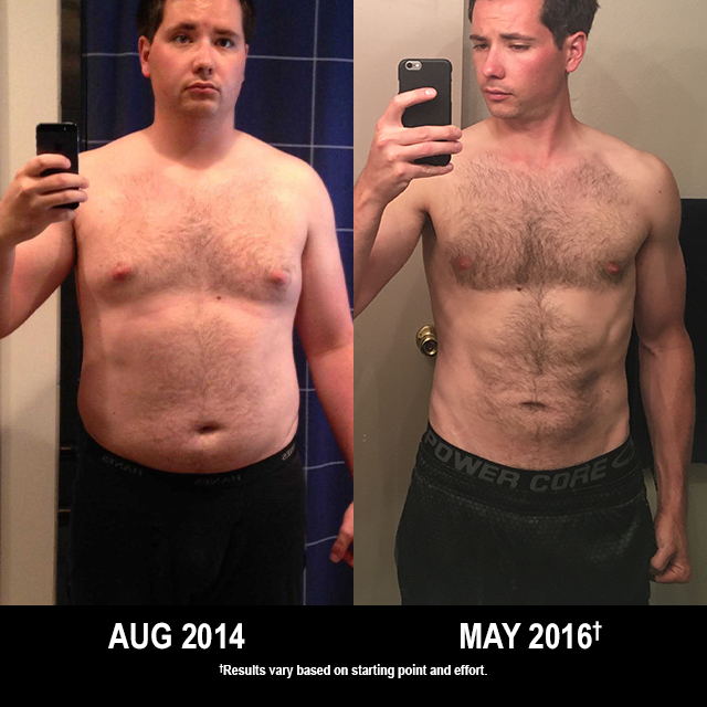 P90X Results: Joseph Lost 75 Pounds!