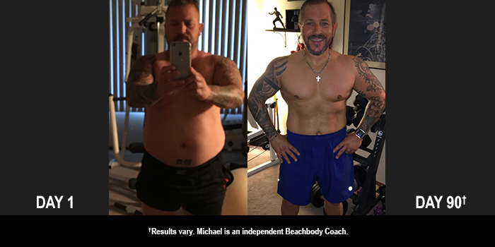 Body Beast Results: Michael Lost 39 Pounds in 90 Days!