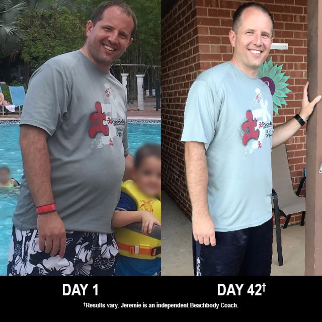 21 Day Fix Results: Jeremie Lost 16 Pounds in 42 Days!