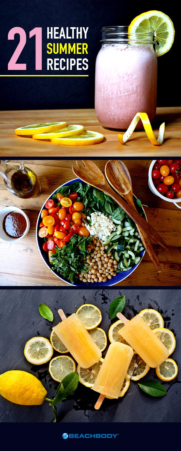 21 Healthy Summer Recipes