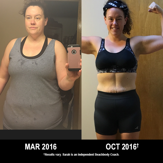 Beachbody Results: Sarah Lost 50 Pounds!