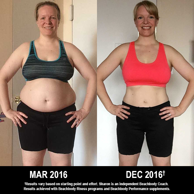 Beachbody Results: Sharon Lost 43 Pounds and Won $1,000!
