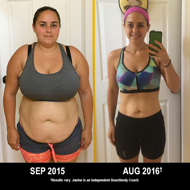 Beachbody Results: Janine Lost 62.4 Pounds and Won $1,500!