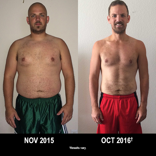 Beachbody Results: Jared Lost 67 Pounds with T25 and P90X3!