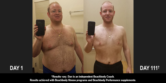 INSANITY MAX:30 Results: Dan Lost 50 Pounds in 111 Days