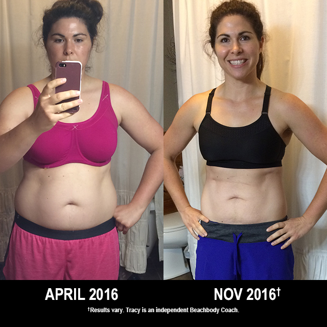 21 Day Fix Results: Tracy Lost 36 Pounds