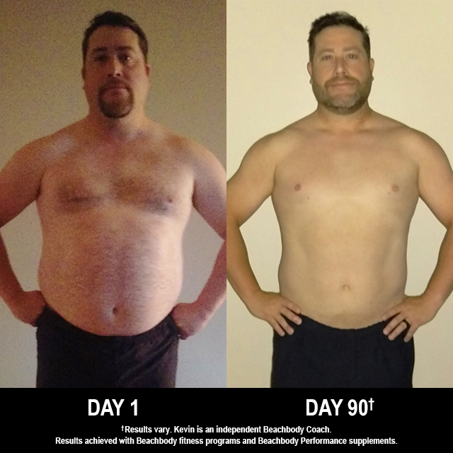 P90 Results: Kevin Lost 32 Pounds in 90 Days!
