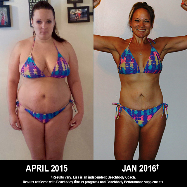 21 Day Fix EXTREME Results: This New Mom Lost 41 Pounds!