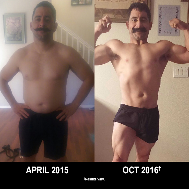P90X Results: This Busy Dad Lost 48 Pounds with P90X and P90X3!
