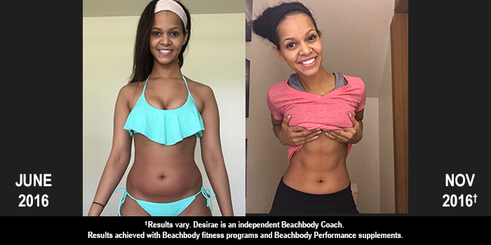 21 Day Fix EXTREME Results: Desirae Lost 22 Pounds