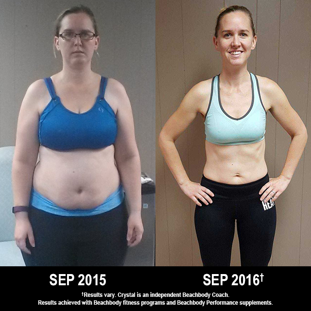 Beachbody Results: Crystal Lost 70.5 Pounds!