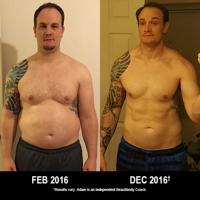 21 Day Fix Results: This Dad Lost 73 Pounds