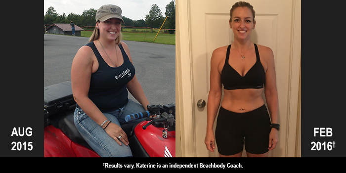 PiYo Results: Katherine Lost 56 Pounds!