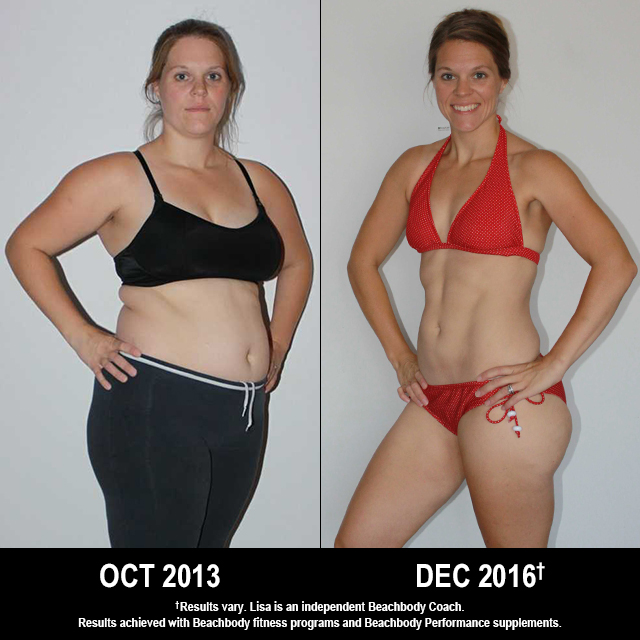 Beachbody Results: Lisa Lost 43 Pounds