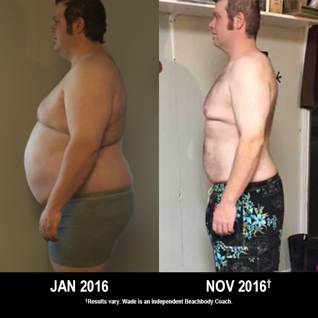 Beachbody Results: Wade Lost 130 Pounds!