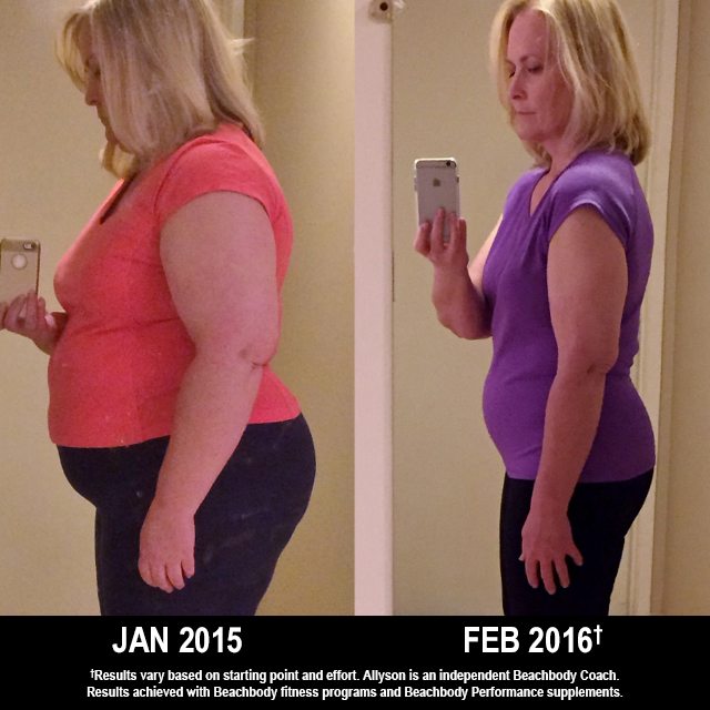 Beachbody Results: Allyson Lost 98 Pounds and Has Kept It Off!