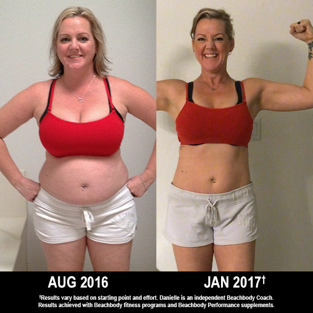 INSANITY Results: Danielle Burned Off Belly Fat, Won $1,000!