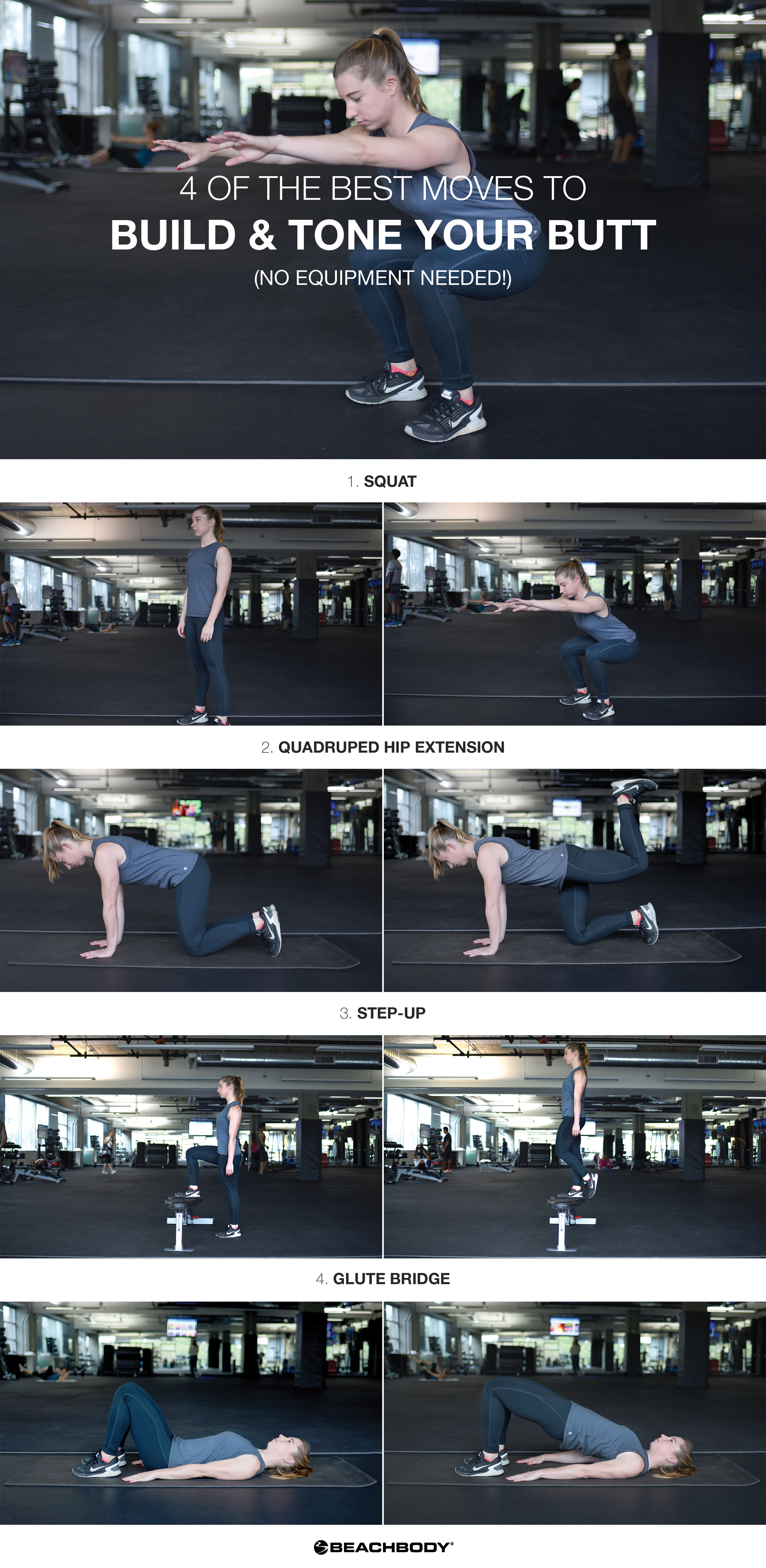 4 of the Best Butt Workouts to Lift Your Butt