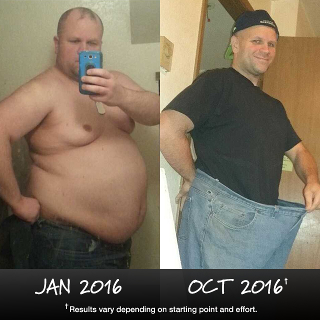 P90X Results: Jeremy Lost Over 100 Pounds in 10 Months!