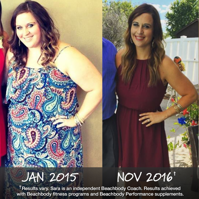 Beachbody Results: Sara Lost 105 Pounds Using Various Programs on BOD!